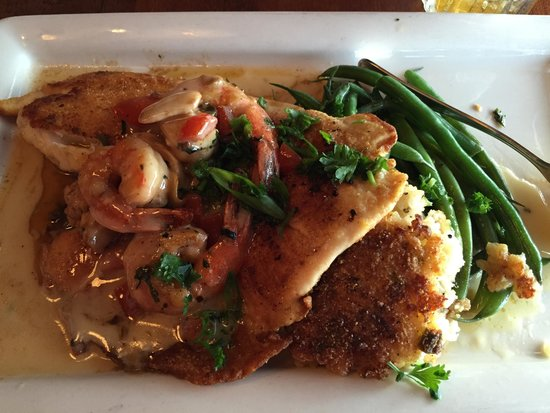 Pappadeaux Seafood Kitchen: Pan Seared Tilapia