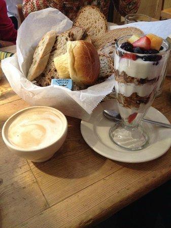 Le Pain Quotidien: Café da manhã completo e saudável !!!!!!