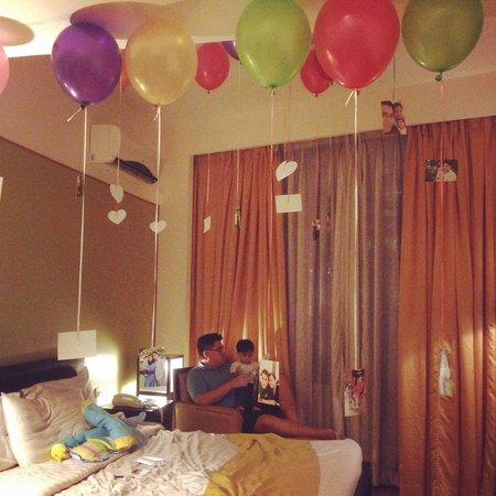 The Malayan Plaza Hotel Surprise Birthday Gift For Hubby Pued It Off With