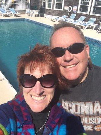 Beach Breeze Inn: loved the pool area!