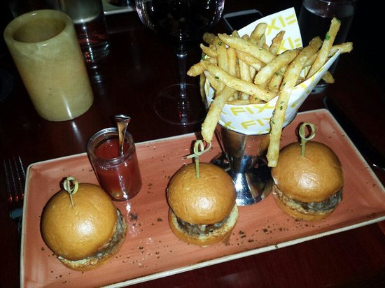 Fix : Kobe sliders and fries...Sooo good!