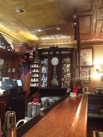 Golden Bee: Shot of the bar that came from England in the late 1880s