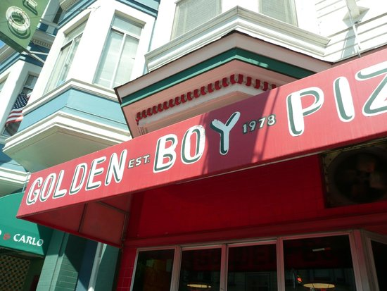 Golden Boy Pizza : Go and grab some of the tasty foccacia pizza.