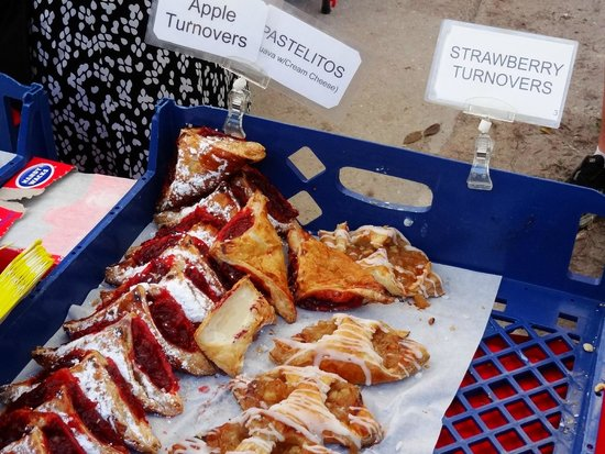 Sand Pointe Condominiums: farmers market.. great treats