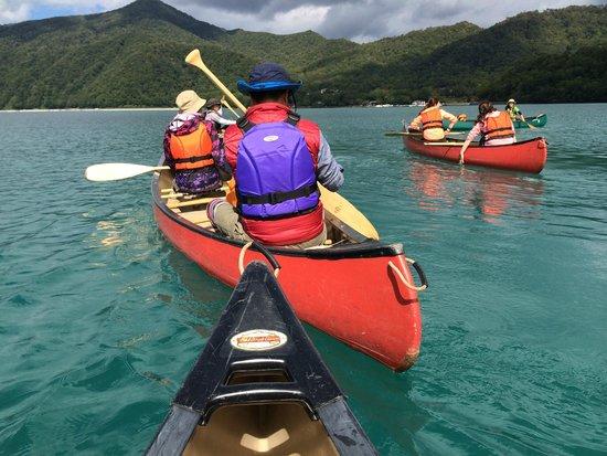 Lake Shikotsu: カヤックツアーは絶対のお勧めです!