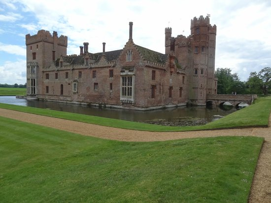 Oxburgh Hall: the castle.. don't forget to try out the old hiding place ( where the priests used to hide)