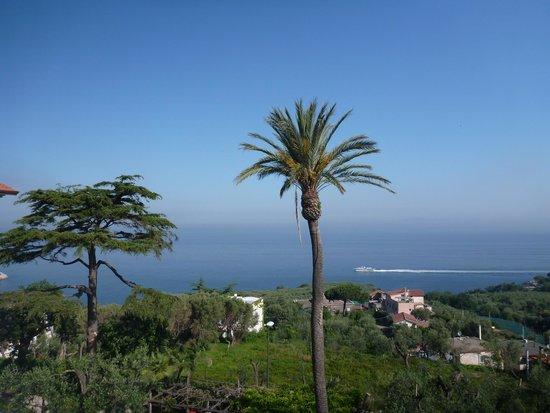 Villa Sabrina Relais : Vista do terraço