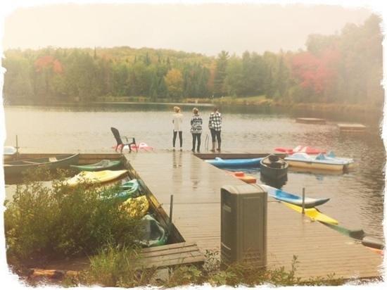 Blueberry Lake Resort: Le lac