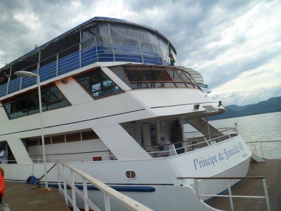 Barco Principe Joinville: O Barco Príncipe