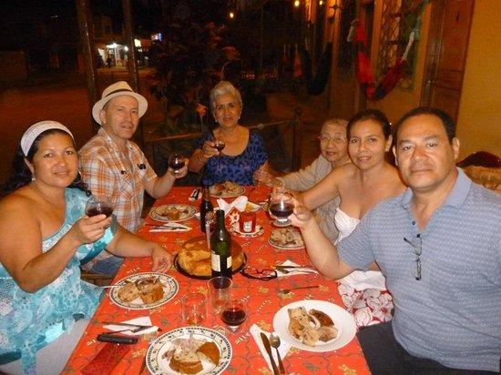 Manglaralto Sunset Hostel: NEW YEAR