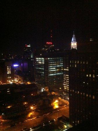Sheraton Philadelphia Downtown Hotel: Philly at Night