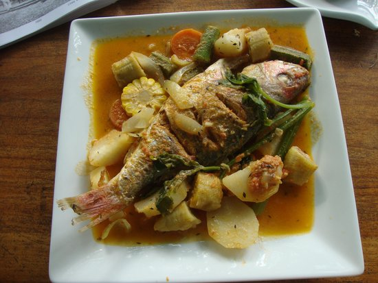 Restaurante Lidia's Place: House specialty seafood entree