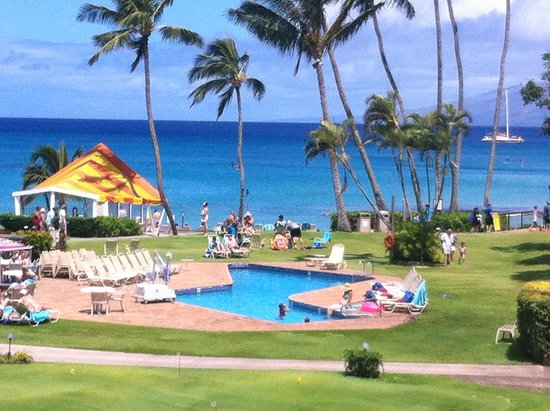 Napili Kai Beach Resort: View from our room