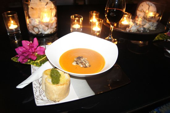 Mario's Cuisine: ginger papaya soup, so good