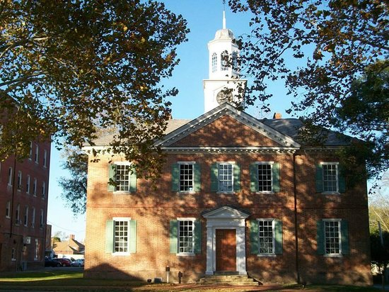 Edenton, Северная Каролина: 1767 Chowan County Courthouse