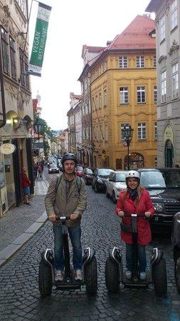 Segway Rent Prague : 2х часовой сегвей-тур по Праге, Нерудова улица