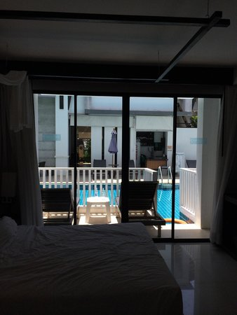 Apasari Krabi: View from our pool access room