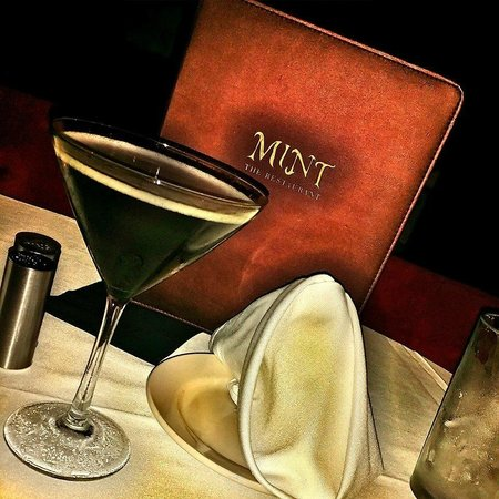 Mint Restaurant and Bar : Dinner menu