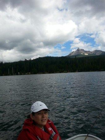 Diamond Lake Resort : So peaceful.