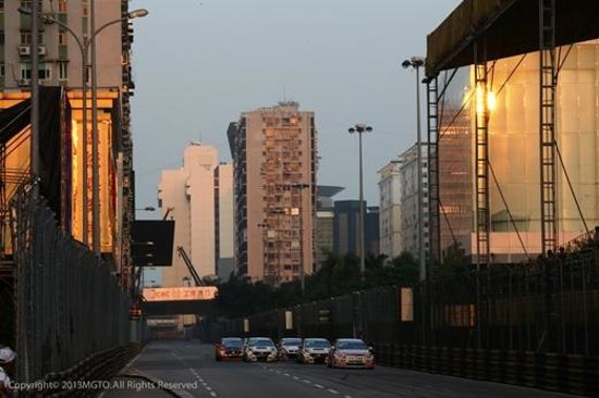 Специальный административный район Макао, Китай: Macau Grand Prix – the Guia circuit is one of the most challenging and demanding street course i