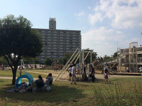 Ojima Komatsugawa Park : children play ground