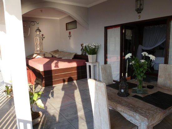 Baliku Dive Resort : Outdoor private area