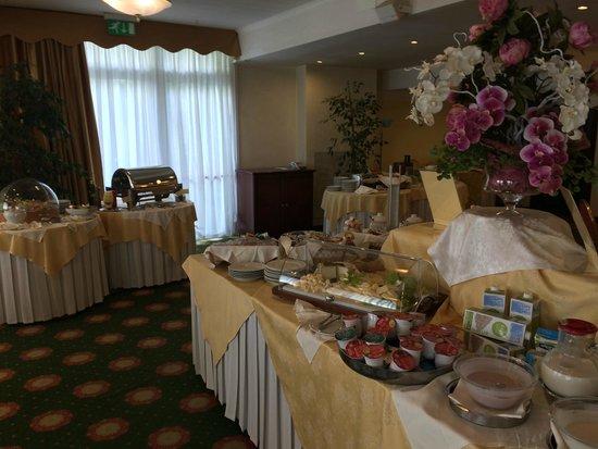 Hotel De Londres : colazione