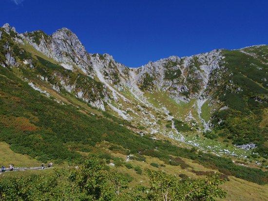 Kiso Komagatake: 空と山の色合いの美しさといったら!