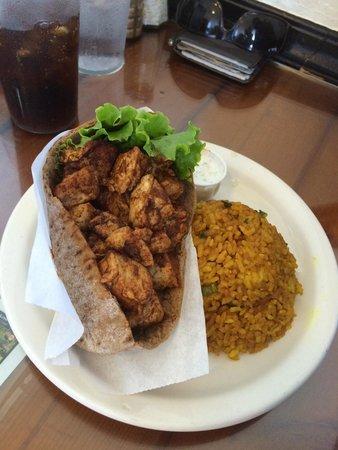 Puka Puka Kitchen: Ahi Tuna Pita Pocket with Garlic Rice
