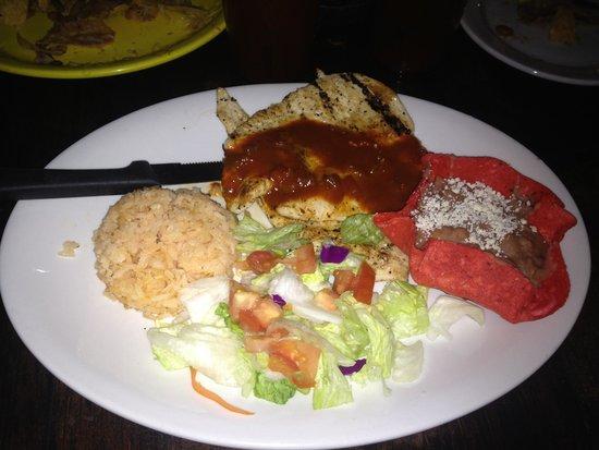 El Patio de Old Town: My yummy dinner