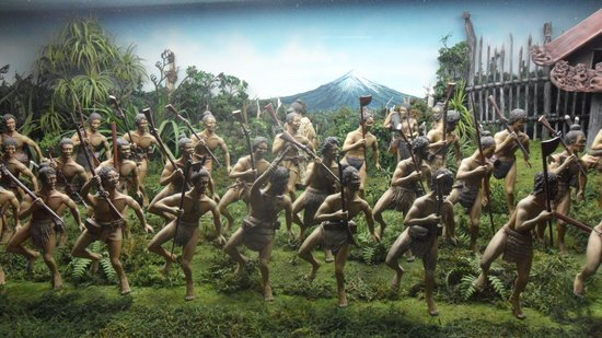 Museo Tawhiti: figurines are so detailed