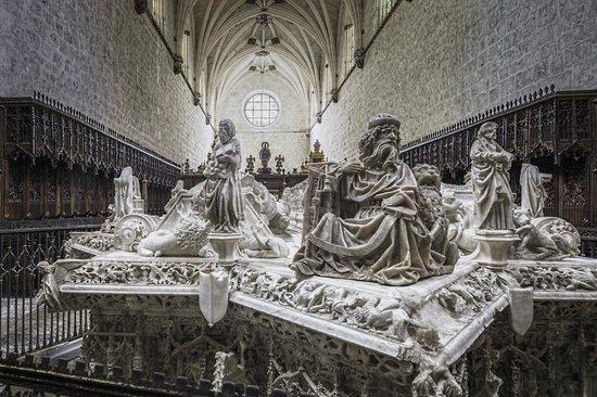 Cartuja de Miraflores: Sepulcro Real (Juan II e Isabel de Portugal, padres de Isabel La Católica)