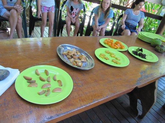 Cape Trib Exotic Fruit Farm: Tasting session