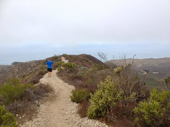 San Luis Obispo, CA: The ridge