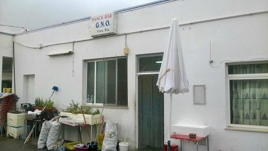Grupo Naval de Olhão - Restaurante: Rear of GNO