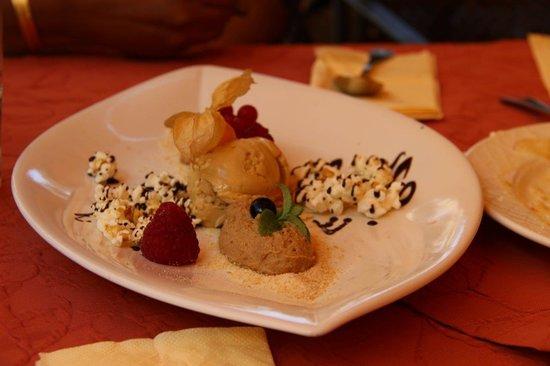 Goldener Adler Restaurant: Tiramisu at Goldener Adler