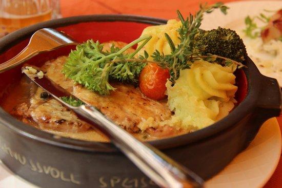 Goldener Adler Restaurant: Grilled Pork