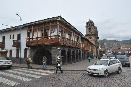 Plaza de Armas: Кафешка