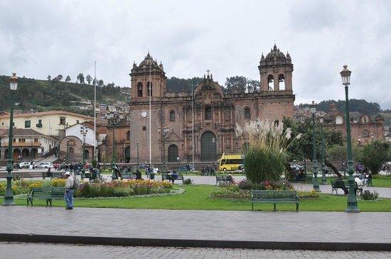Plaza de Armas: Кафедральный собор Куско