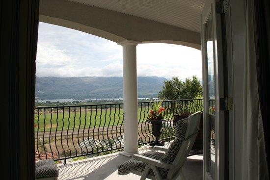 The Spare Room : Balkon mit Aussicht