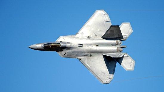 Oregon International Airshow: F22 Demo team