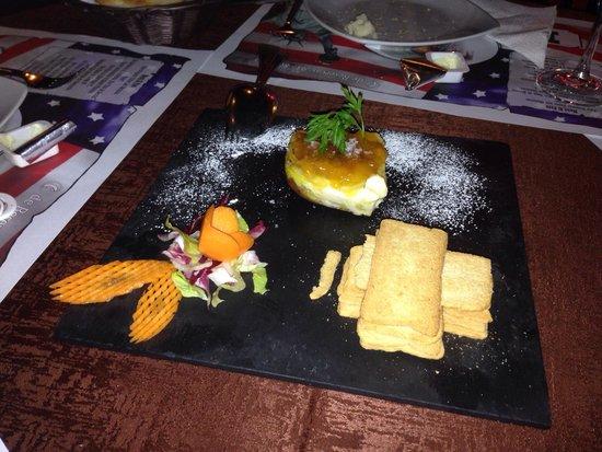 Restaurante El Paso de Estepona: Milhoja de foie