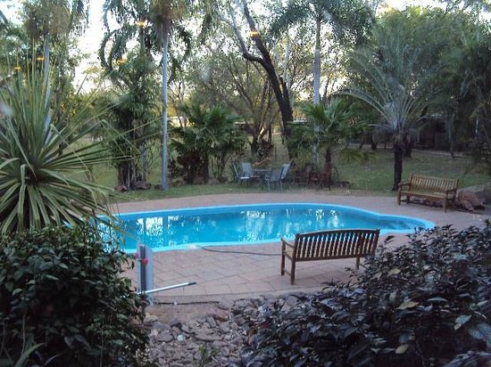 Communal Pool And Dining Decks Picture Of Mary River Wilderness