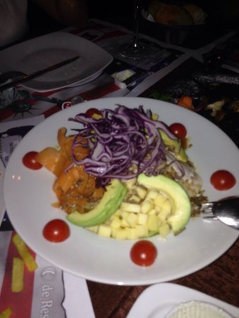 Restaurante El Paso de Estepona: Ensalada del S