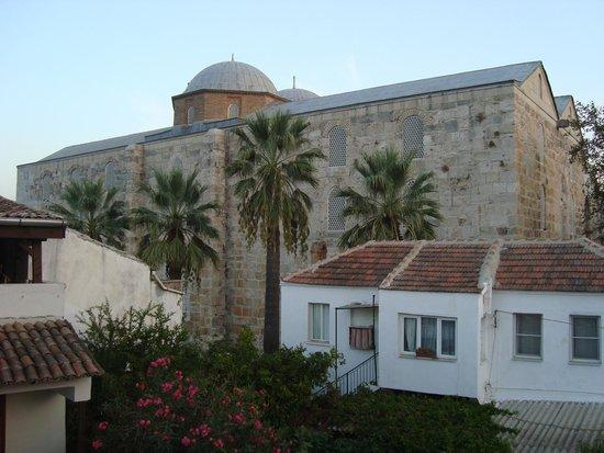 Hotel Akay: Vista da varanda
