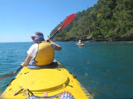 C Sea Kayaking Paddling Round The Island