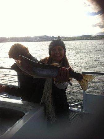 Wairakei Resort Taupo: Trout yum