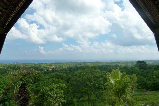 Kamafari Surfcamp: Traumsicht vom Zimmer aus