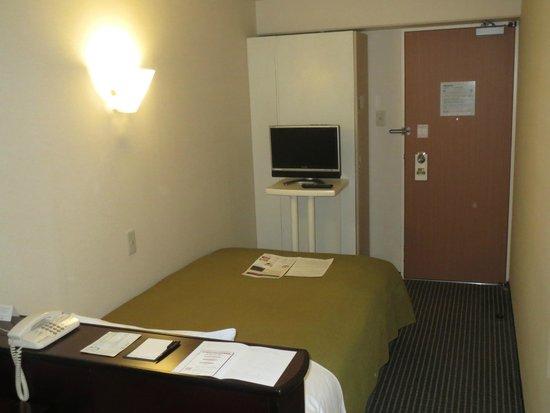 Shinagawa Prince Hotel Tokyo : ベッド