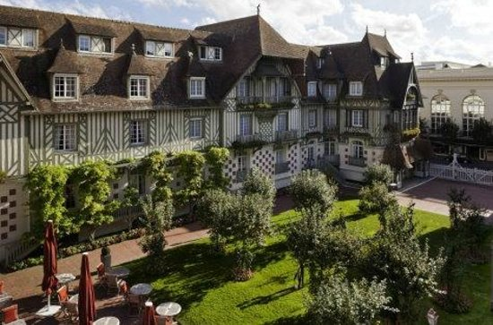 Hotel normandie deauville promotional giveaways